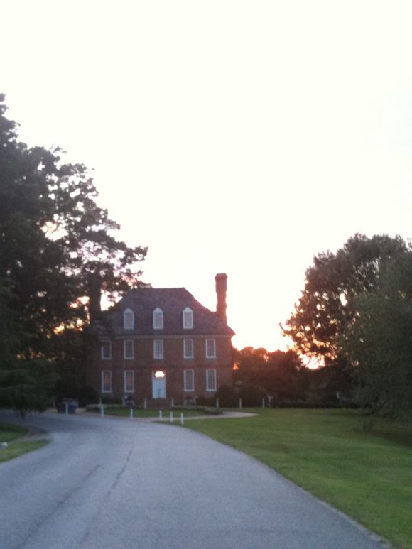 Sunset at the Manor House