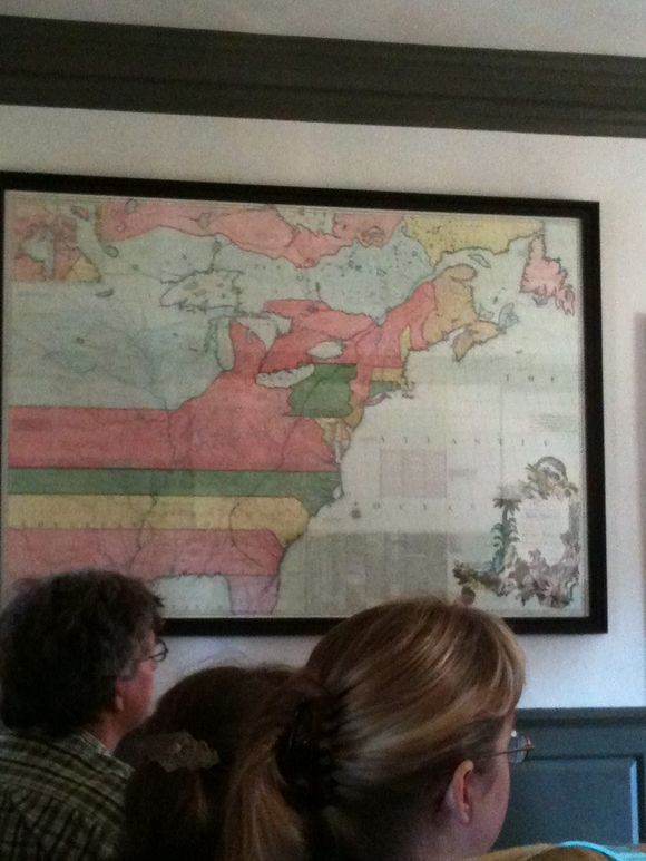 Geography in the Governors Palace